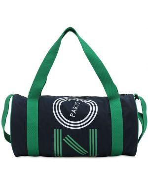 Plecak z logo brezentowy Kenzo Kids