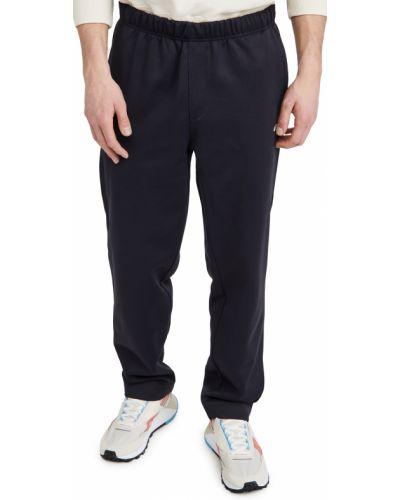 Spodnie bawełniane z haftem Ami
