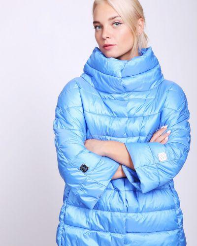 Голубая куртка нейлоновая Pezzo