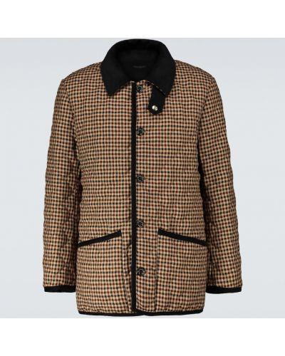 Стеганая куртка - черная Mackintosh