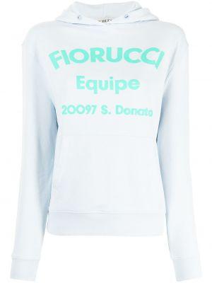 Niebieska bluza z printem Fiorucci