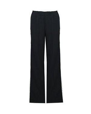 Хлопковые брюки - черные Ermanno By Ermanno Scervino
