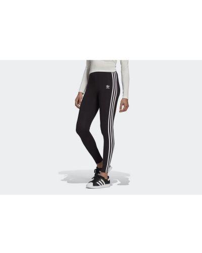 Rajstopy bawełniane - czarne Adidas
