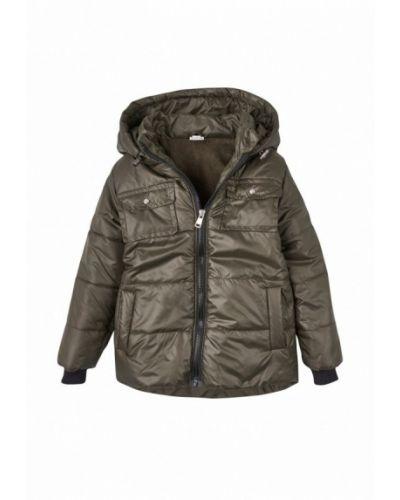 Зеленая куртка теплая Одягайко