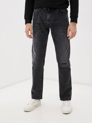 Серые зимние джинсы Replay