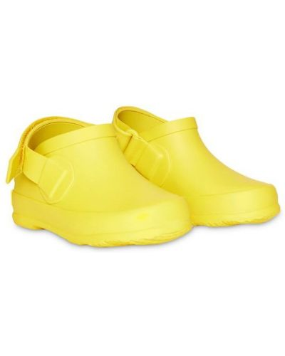 Сандалии желтый Burberry Kids