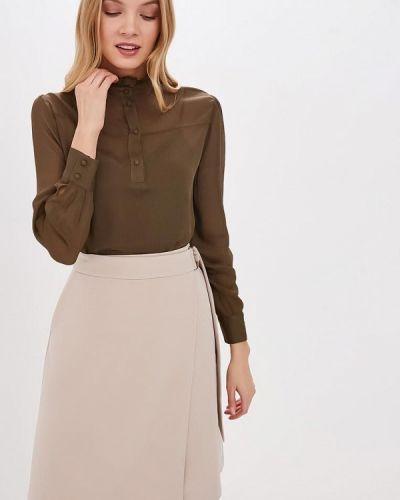 Блузка с длинным рукавом зеленый Lusio