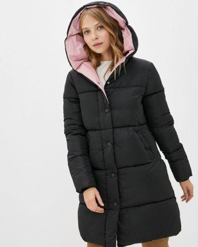 Теплая черная зимняя куртка Froggi