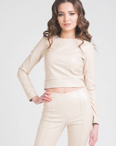 Блузка с длинным рукавом бежевый Cauris
