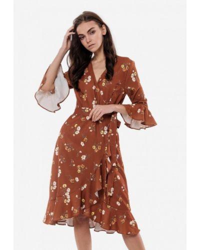 Платье с запахом весеннее 7arrows