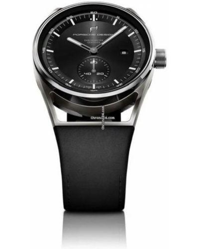 Czarny zegarek Porsche Design