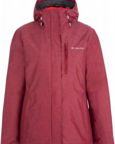 Куртка с капюшоном горнолыжная спортивная Columbia