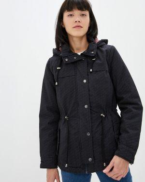 Черная утепленная куртка Fresh Made
