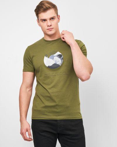 Спортивная футболка - хаки Outhorn