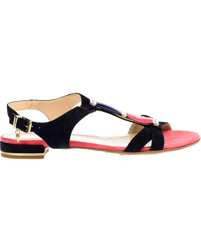 Кожаные сандалии - черные Renzoni