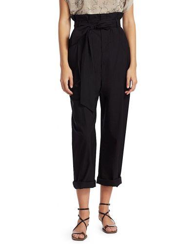 Укороченные классические брюки - черные Brunello Cucinelli