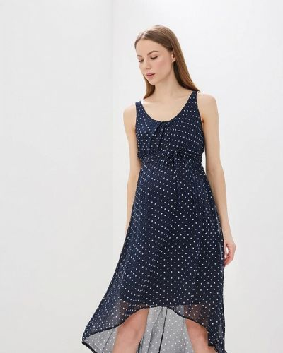 Платье для беременных синее Mama.licious