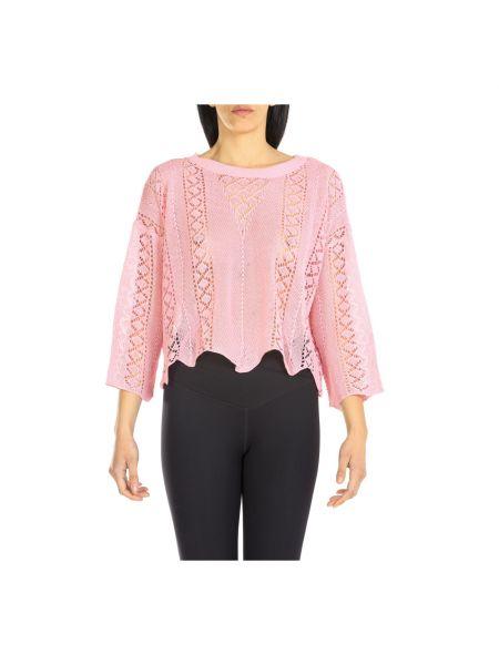 Różowy sweter Dixie