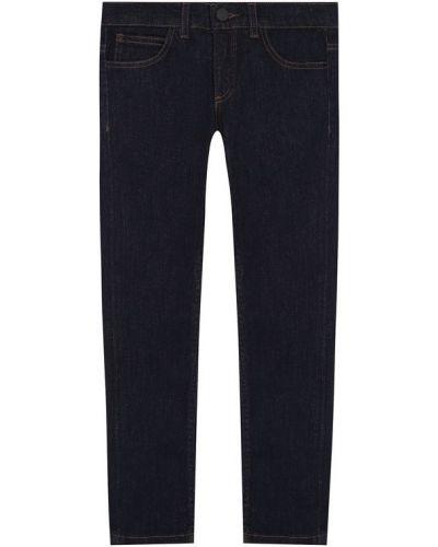 Прямые джинсы на резинке с низкой посадкой Fendi