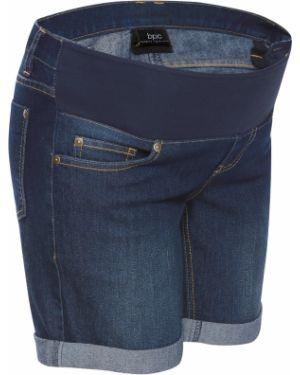 Джинсовая юбка брюки юбка-шорты Bonprix