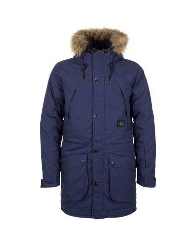 Длинная куртка утепленная с капюшоном Termit
