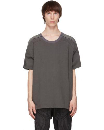 Zielony t-shirt krótki rękaw bawełniany Blackmerle