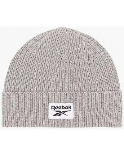 Серая зимняя шапка Reebok