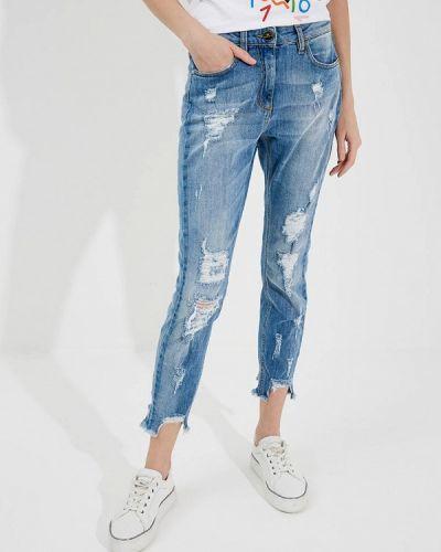 Синие джинсы Elisabetta Franchi