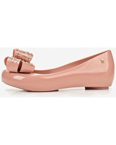Балетки розовый Melissa
