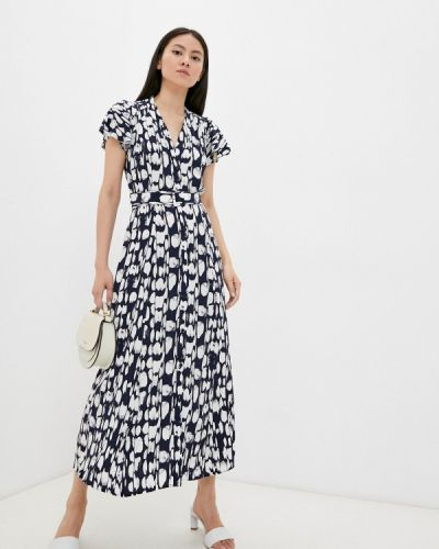 Синее платье летнее French Connection