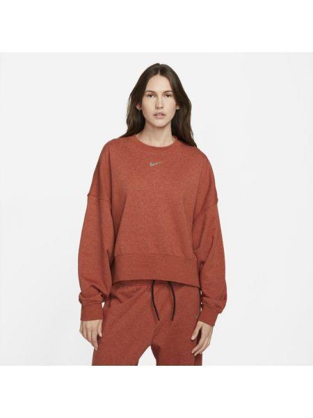 Bluza dresowa - pomarańczowa Nike