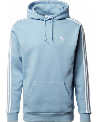 Niebieska bluza bawełniana Adidas Originals