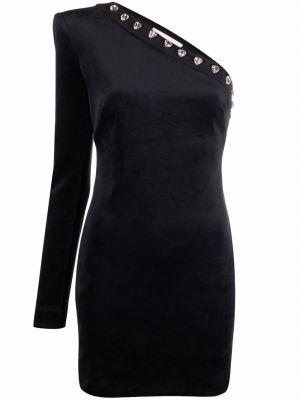 Черное платье длинное Chiara Ferragni