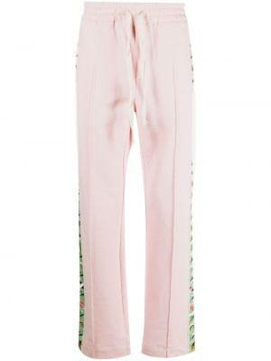 Спортивные брюки из полиэстера - розовые Casablanca
