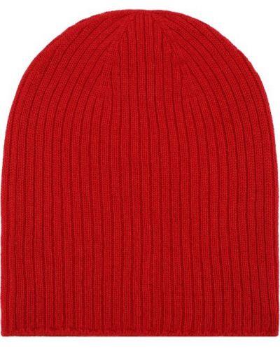 Красная вязаная шапка Johnstons Of Elgin