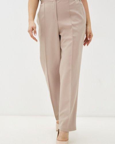 Прямые брюки - бежевые Prewoman