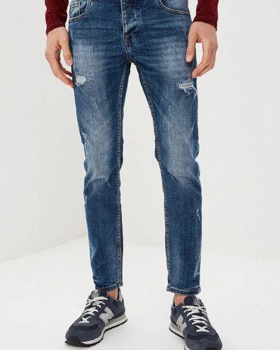 Синие джинсы-скинни Warren Webber