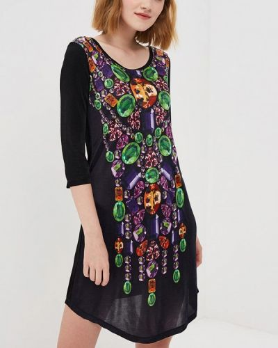 Платье черное Custo Barcelona