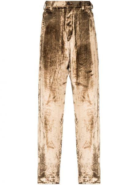 Beżowe spodnie Sulvam