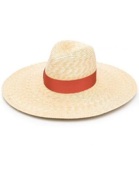 Beżowy kapelusz Borsalino