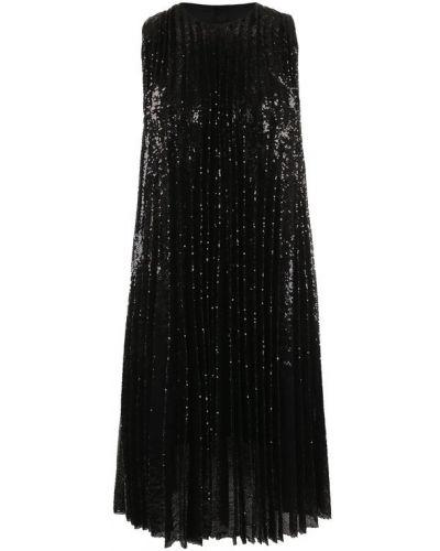 Платье плиссированное свободного кроя Msgm