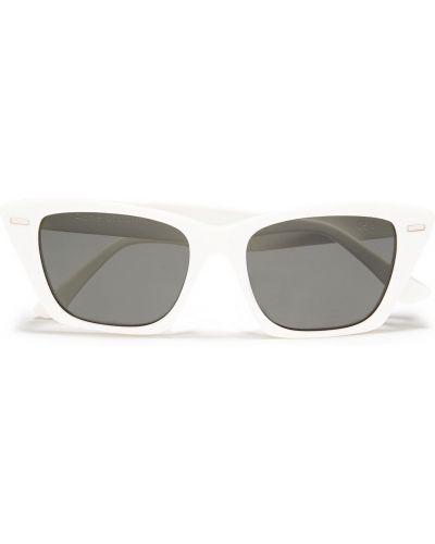 Białe okulary Acne Studios