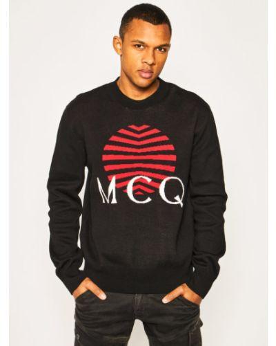 Czarny sweter Mcq Alexander Mcqueen