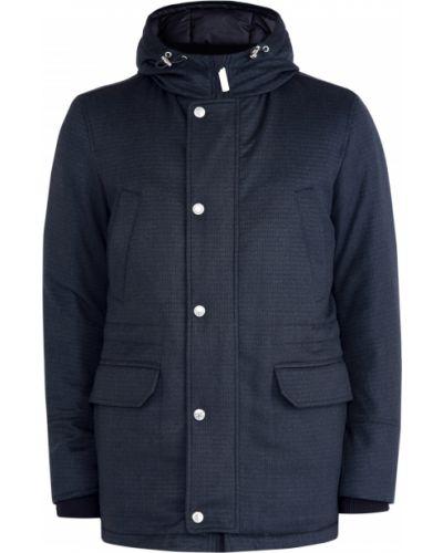 Куртка с капюшоном утепленная с манжетами Stefano Ricci