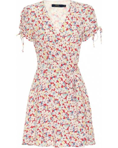Платье мини облегающее с запахом Polo Ralph Lauren