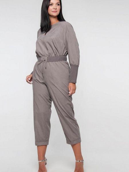 Брючный костюм серый Лимонти