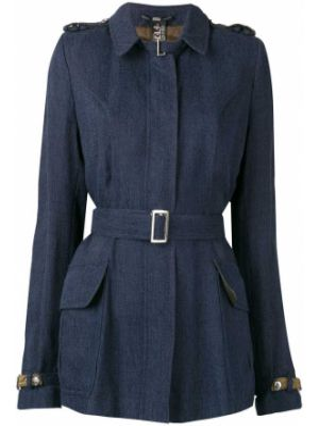 Синяя куртка с манжетами Gianfranco Ferre Pre-owned