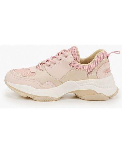 Низкие кроссовки - розовые Kazar Studio