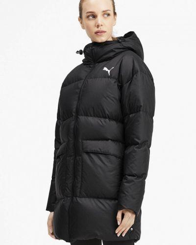 Куртка осенняя черная Puma