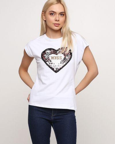 Яркая футболка - белая Monte Cervino